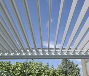 Installation d'une pergola bioclimatique à Lambersart