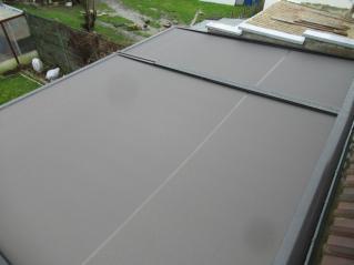 Store de toiture de véranda - Dechy