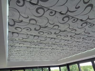Pose d'un store de toiture de véranda - Faumont