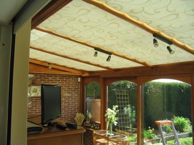 Stores de toiture de véranda - Seclin