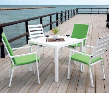 Table PALMA en aluminium  – Bridge de table PALMA en aluminium