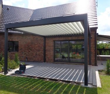 Store de terrasse et Pergola Bioclimatique - Hasnon