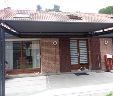 Store de toiture de véranda - Wavrin