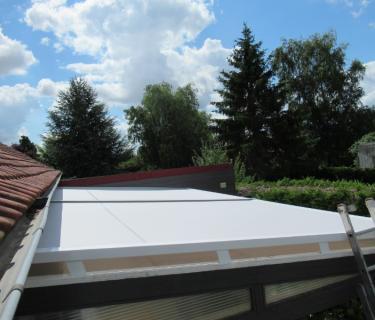 Store de toiture de véranda - Auchy les Mines