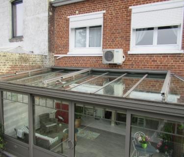Store de toiture de véranda - Anzin