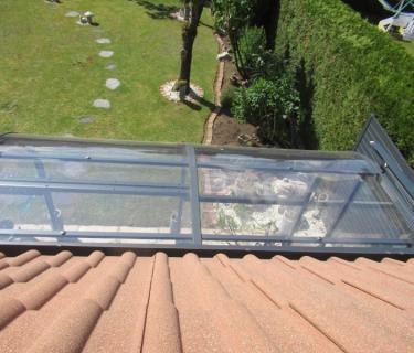 Store de toiture de véranda - Sequedin