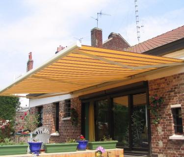 Store de terrasse avec lambrequin - Lambersart