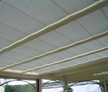 Stores de toiture de véranda - Lorgies