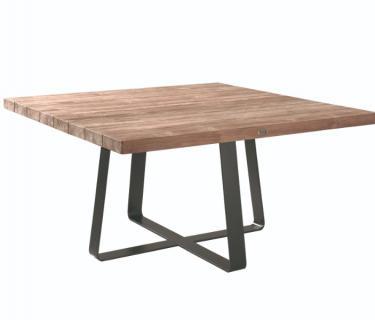 TABLE MARGERITE PLATEAU TECK
