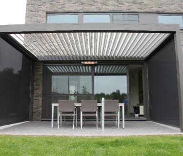 Pergola Bioclimatique - Frontière Belge