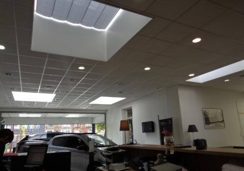Store de toiture sur puit de lumière - Marcq en Baroeul