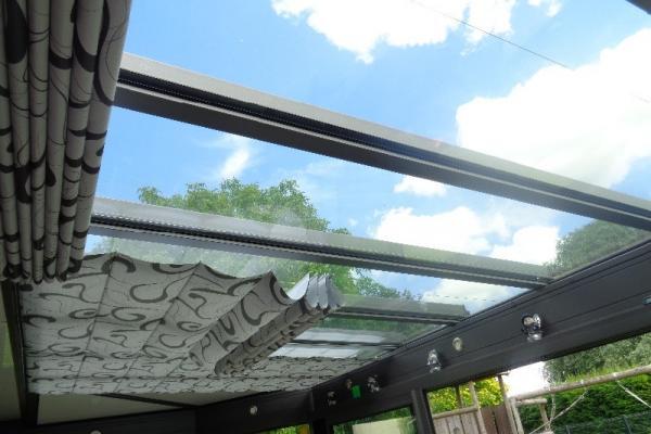 Pose de stores de toiture de véranda - Annoeullin