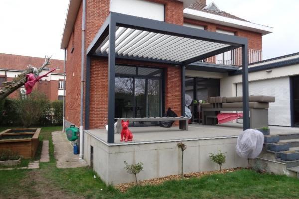 Pergola Bioclimatique - Arras