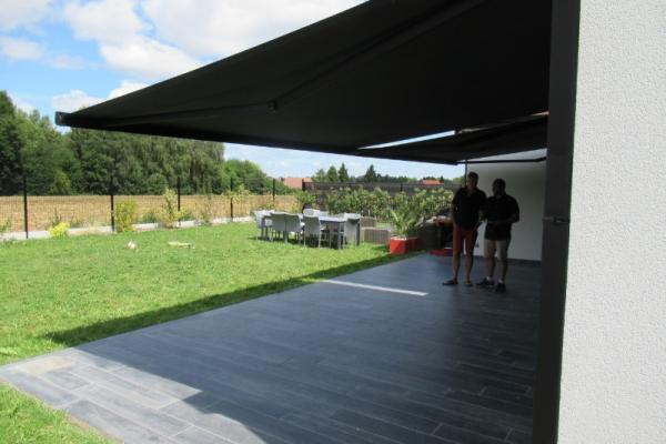 Store de terrasse - Vaudricourt