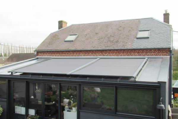 Store de toiture de véranda - Lesboeufs