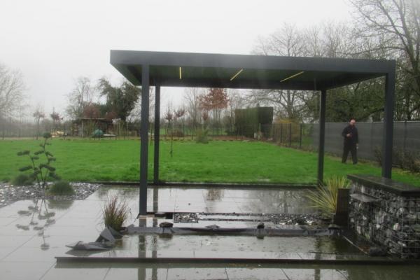 Pergola bioclimatique - St martin sur écaillon