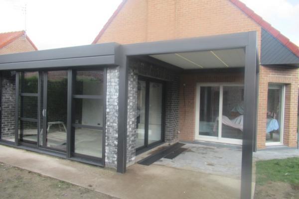 Pergola bioclimatique - Marquette lez Lille