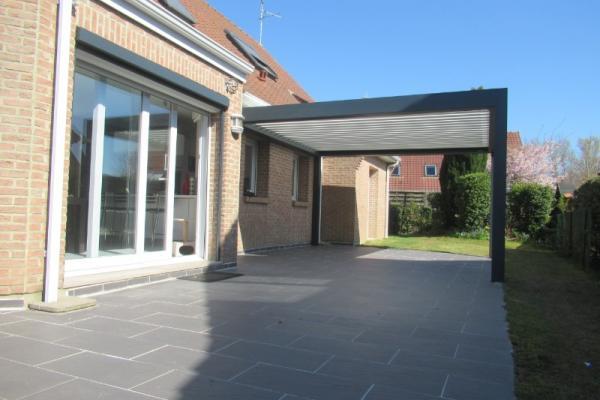 Pergola bioclimatique - St Omer