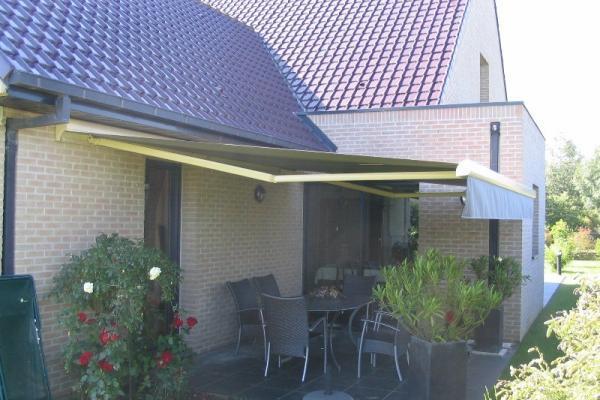 Store de terrasse avec lambrequin - Bailleul