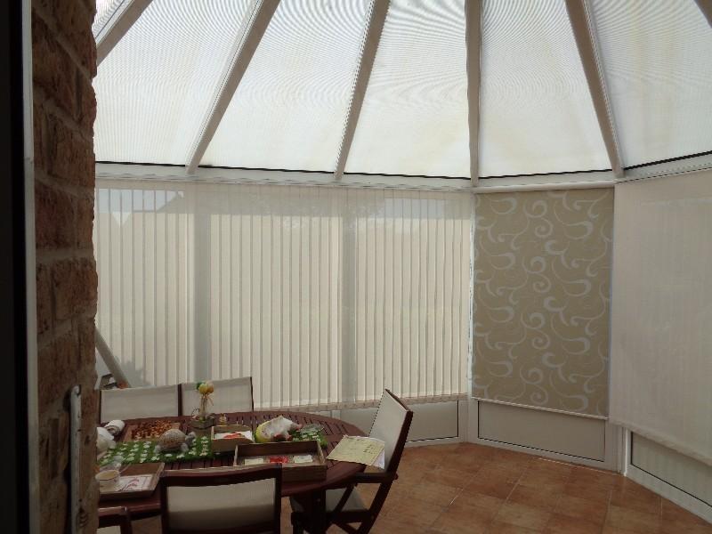 D coration fenetre veranda for Decoration bord fenetre