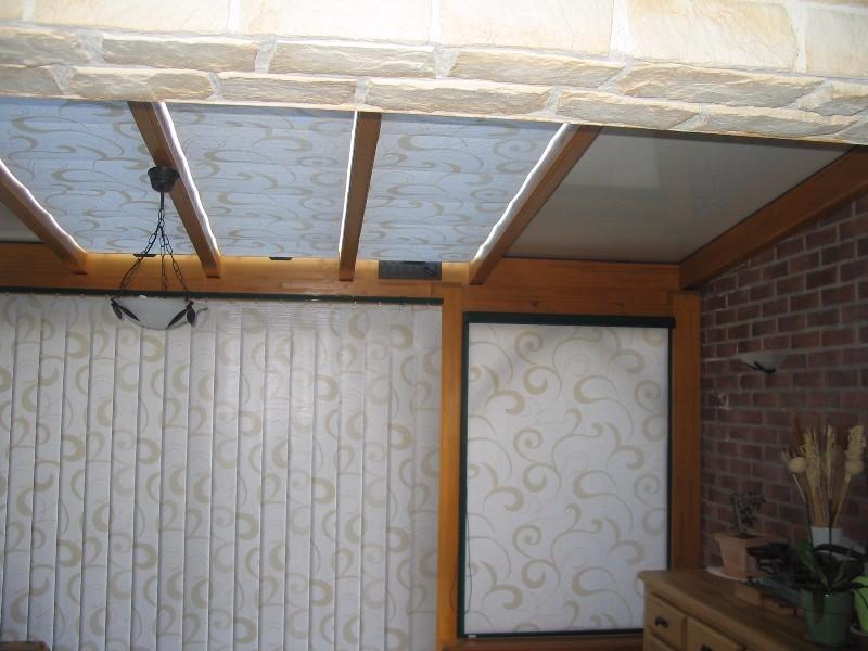 Stores de toiture et fen tre de v randa for Fenetre toiture